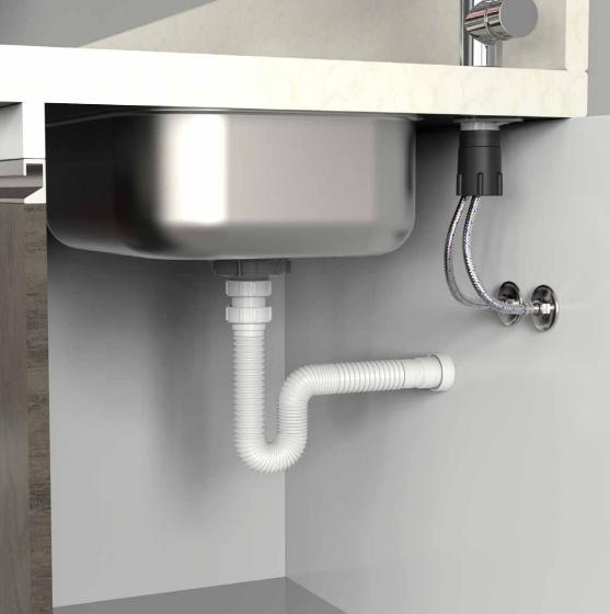 Noticias  Blukit  Soluções para instalações hidráulicas -> Pia Banheiro Sifao